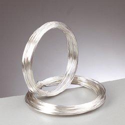 Silberdraht mit Kupferkern, 0,8 mm, 6 m