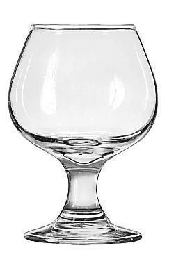 Libbey Embassy 5.5 Oz Brandy Glass - Foot Brandy