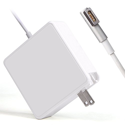 - SODYSNAY R60-L Replacement Macbook Pro Charger, L-Tip 60W Magsafe Power Adapter For Apple Macbook Pro 13-inch A1181 A1278 A1184 A1330 A1342, L-Shape Magnetic connector 16.5V 3.65A ... (60w-L-Tips-White)