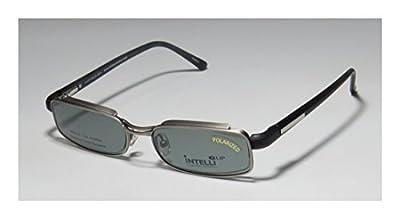New & Season & Genuine - Brand: Elite Eyewear Style/model: 759 Gender: Mens/Womens Vision Care Fabulous Designer Half-rim Spring Hinges Sunglass Lens Clip-Ons Eyeglasses/Eyeglass Frame