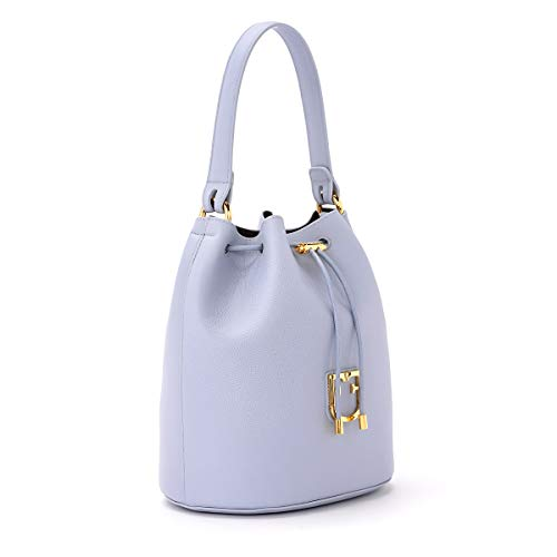Furla Corona Pelle Borsa In Secchiello Violetta S IgYyfmb76v