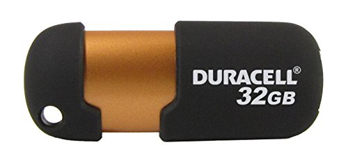 Price comparison product image Duracell 32GB USB 2.0 Thumb Drive [32 Gigabyte Memory Capacity Capless Flash Stick Pen for PC Mac Desktop Laptop Macbook iMac Apple HP Dell Asus Acer Lenovo IBM Chromebook Windows Computer Storage]