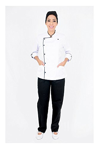 chef black jacket 3 4 - 7