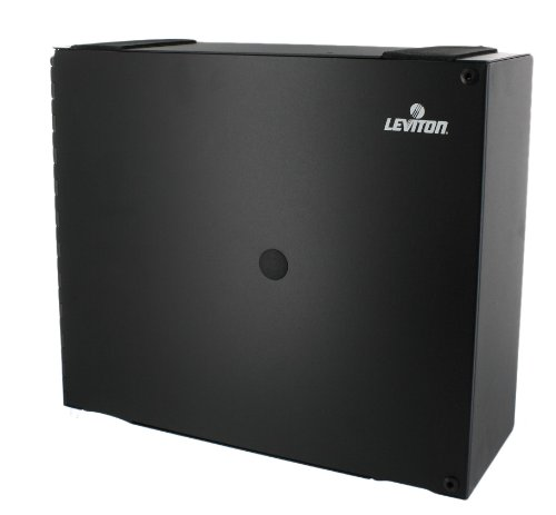 Leviton 5W310-N Medium Wall Mount Enclosure, Empty with Solid Metal Door, No Lock by Leviton