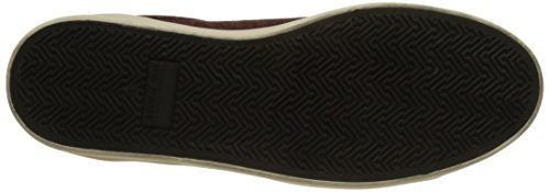 polar Donna Patent bordeaux bordeaux Marron Basse Sneaker Noname Plato q7gnxRwSXt