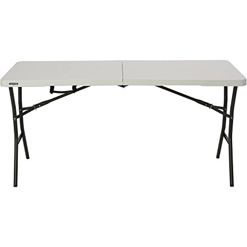 Price comparison product image Lifetime 539; Essential Fold-in-Half Table