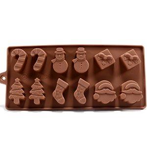 12x moules /à chocolat pour no/ël