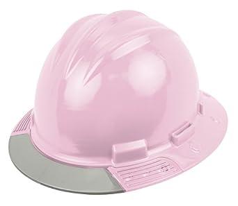 Bullard avlpbg arriba Vista sombrero duro, luz rosa, vinilo Cejas Pad, trinquete suspensión