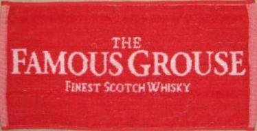 Famous Grouse Bar Towel 100% Cotton Bar Towel 20