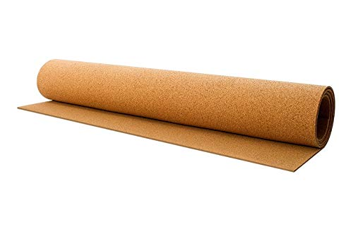 Thick Cork Roll 24x48x0.25 Inch