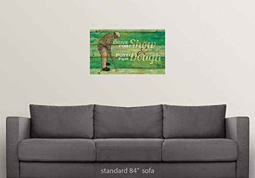 Amazon.com: Great Big Canvas Poster Print Entitled Putt for ...