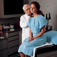 Kimberly Clark Healthcare 69766 Exam Gowns X-ray Blue 100/Ca