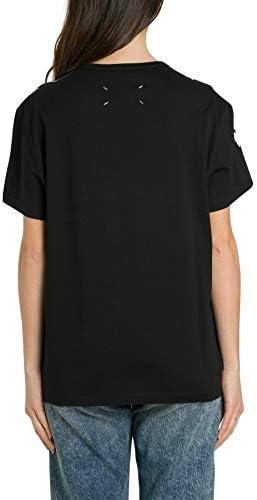 MAISON MARGIELA Luxury Fashion Femme S51GC0482S22816900 Noir Coton T-Shirt | Printemps-été 20