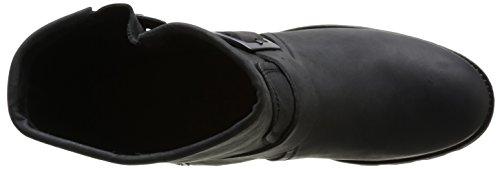 noir Donna Stivaletti Palladium Pldm 315 Upcast Clp By Black Nero XS0qn6Z