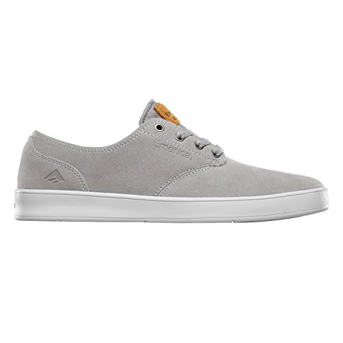 Emerica Laced By Leo Romero-M, Baskets mode homme Multicolore - Gris/Blanc (Grey/White/Gum)