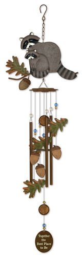 """Sunset Vista Designs Babes Raccoon Wind Chime, 32.25"""" for sale  Delivered anywhere in USA"""