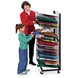 Nasco Jumbo Wall Hugger 50-Shelf Drying Rack - Arts & Crafts Materials - 9708416