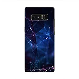 Cover It Up - Connection Points Galaxy Note 8 Hard Case