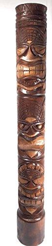 Happy, Love & Prosperity Tiki Totem 60