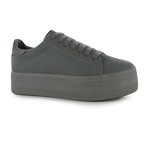 zapatillas Stan zapatos mujer zapatillas Gris para Play Jeffrey plataforma Campbell gris Gris gris BgwTqxznp