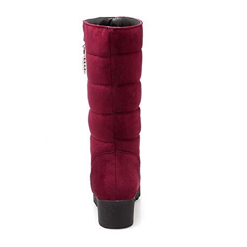 5 Balamasa Compensées 36 Rouge Sandales Femme Red Eu Abl11237 7w4r7qz0