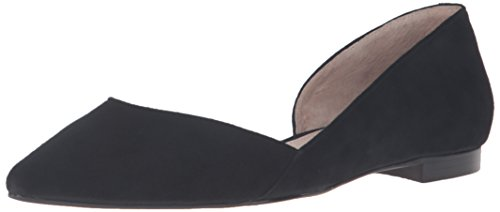 Pointed Black Women's Toe Fisher Sunny4 Marc LTD Flat wZgPqx1