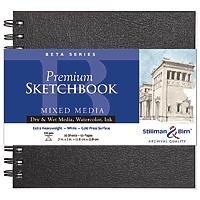 (Stillman & Birn Beta Series Wirebound Sketchbook, 7