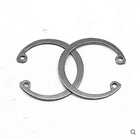 Inner Diameter: Hole 19 30pcs Ochoos Standard 304 Stainless Steel Hole with circlip Ring Inner Card circlip C Type circlip GB893 retaining Ring hole8-36