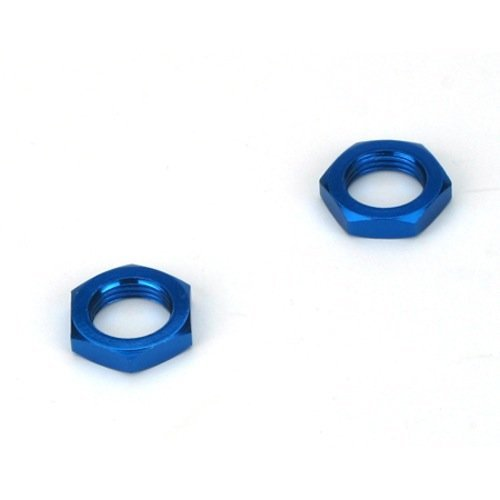 Hex Nuts, Blue: LST2, Muggy by Team Losi (Losi Muggy)