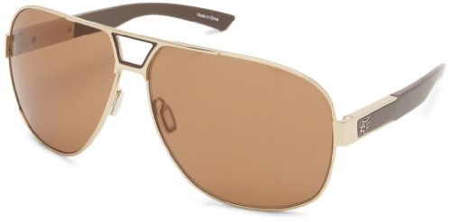 Fox The Moter Aviator Sunglasses - Polished Gold & Bronze...