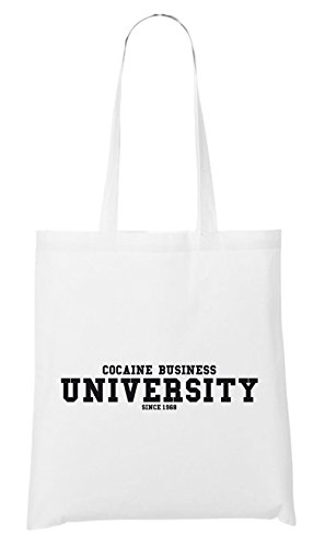 Cocaine Business University Bag White Certified Freak