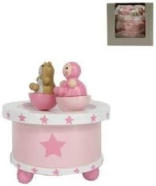 Chichi Gifts Gisela Graham Estrellas Spinning bebé Caja de música ...