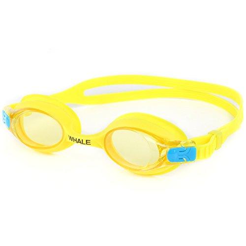 Kids Swim Goggles + Swimming Cap(Age 2 12),Anti fog UV Protection Goggles for Kids,Silicon Animal Owl Design Kids Swimming Cap
