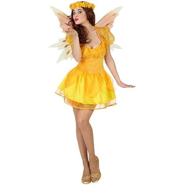 Atosa-23037 Disfraz Hada, Color amarillo, XL (23037): Amazon.es ...