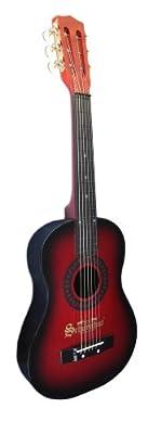 Schoenhut Acoustic Guitar, Red/Black
