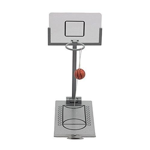 Lukame Mini máquina de tiro plegable Mesa de juego de baloncesto ...