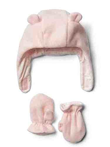 baby-gap-girls-pink-pro-fleece-bear-hat-mittens-set-6-12-months