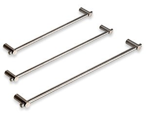 Cool-Line Satin Stainless Steel 19 inch Towel Bar