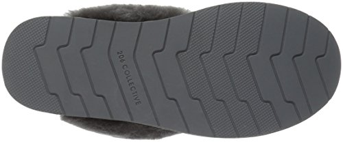 Slipper Gray 206 Shearling Roosevelt Women's Slide Collective Suede qwOXz