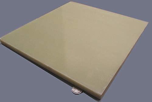 Machinable Ceramic Sheet 1//8 Thick X 3 X 3 MAC2-020303 Macor