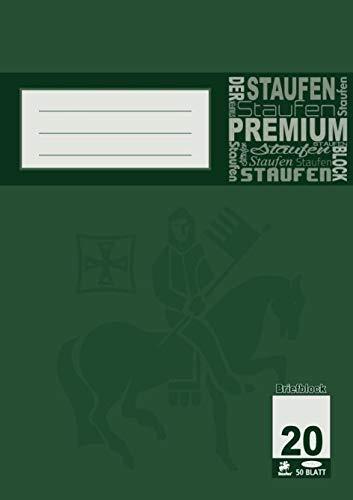 Staufen Briefblock blanko DIN A4 50 Blatt