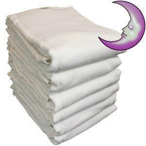 Adult Cloth Diaper - LeakMaster Night Weight Gauze Prefold Diaper - Medium (602G)
