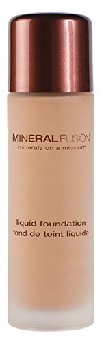 Liquid Foundation Warm 2 Mineral Fusion 1 fl oz Liquid