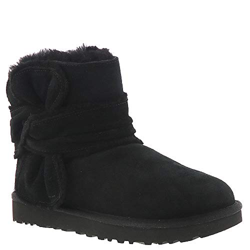 UGG Mini Spill Seam Bow Women's Boot 8 B(M) US Black for sale  Delivered anywhere in USA