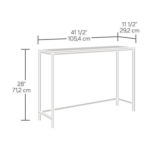 Sauder 420042 Sofa Furniture, Table, Charter Oak by Sauder (Image #8)