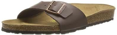 Birkenstock Australia Women's Madrid Sandals, Dark Brown, 40 EU