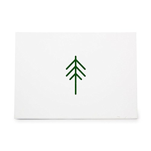 Tree Pine Nature Natural Green Style 5144, Rubber Stamp Shape great for Scrapbooking, Crafts, Card Making, Ink Stamping Crafts