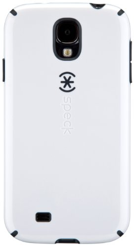 Speck Products CandyShell Samsung Galaxy S4 Case  - White/Charcoal Grey (Speck Candyshell S4 Case)