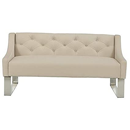 Amazon.com: Hebel Tufted Sofa Bedroom Bench | Model SF - 260 ...