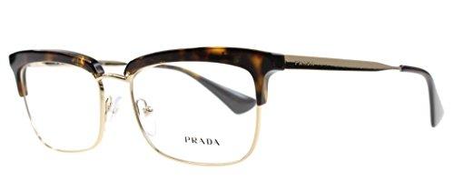 Prada Women's PR 08SV Eyeglasses Havana 53mm